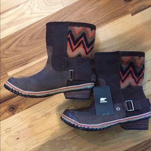 New Sorel Slimshortie Waterproof Boots. Size 8.5